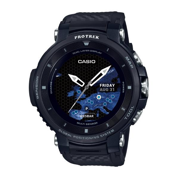 カシオ Smart 腕時計 PRO WSD-F30-BK TREK Smart ブラック WSD-F30-BK PRO [WSDF30BK], 高知県:369882ff --- sunward.msk.ru