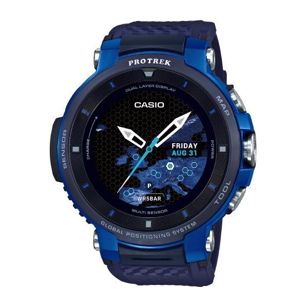 カシオ 腕時計 PRO TREK Smart ブルー WSD-F30-BU [WSDF30BU]