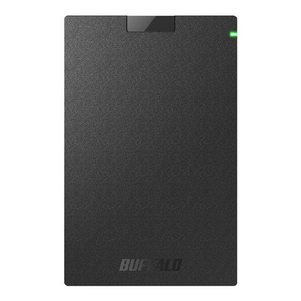 BUFFALO ポータブルハードディスク(3TB) ブラック HD-PCG3.0U3-GBA [HDPCG30U3GBA]