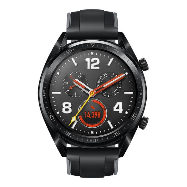 HUAWEI スマートウォッチ WATCH GT Graphite Black WATCH GT/GRAPHITE BL [WATCHGTGRAPHITEBL]