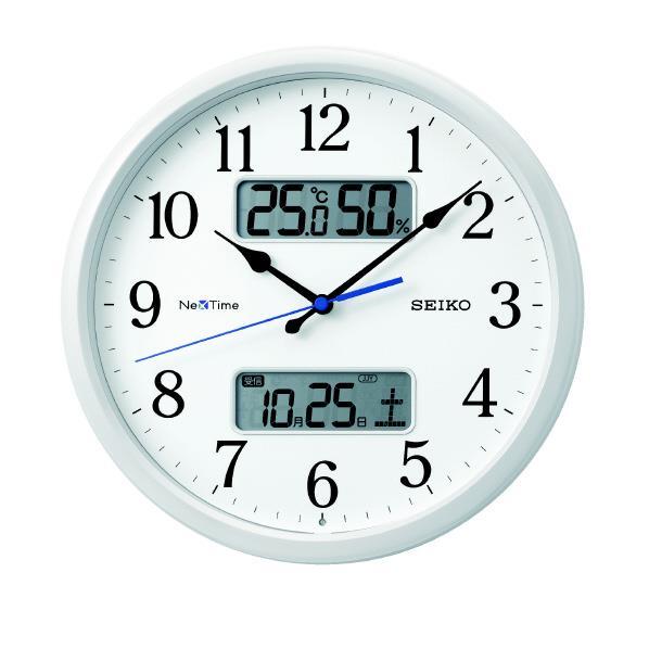 SEIKO 電波掛時計 ZS251W [ZS251W]