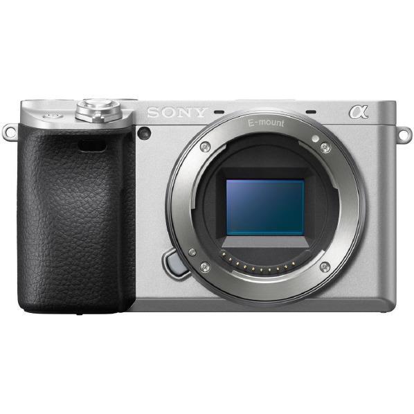 SONY デジタル一眼カメラ・ボディ α6400 シルバー ILCE-6400 S [ILCE6400S]【RNH】