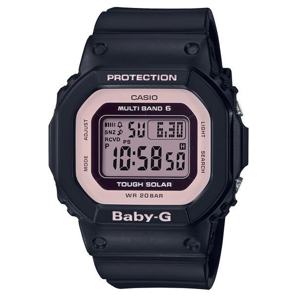 カシオ ソーラー電波腕時計 BABY-G ブラック BGD-5000-1BJF [BGD50001BJF]【MCPI】