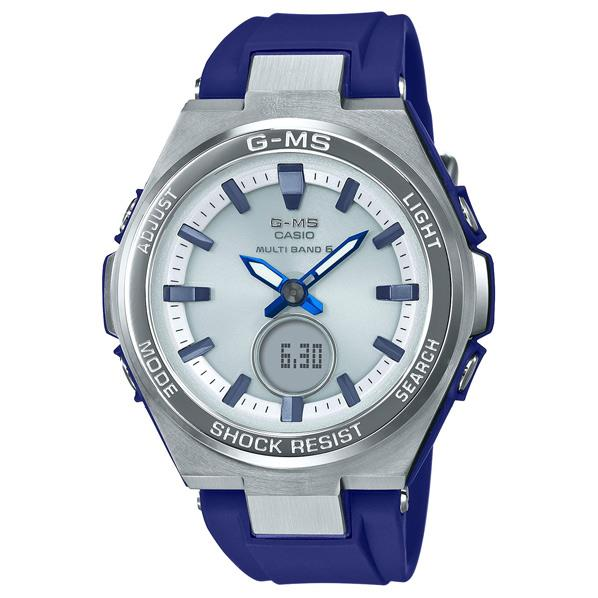 カシオ ソーラー電波腕時計 BABY-G ブルー MSG-W200-2AJF [MSGW2002AJF]