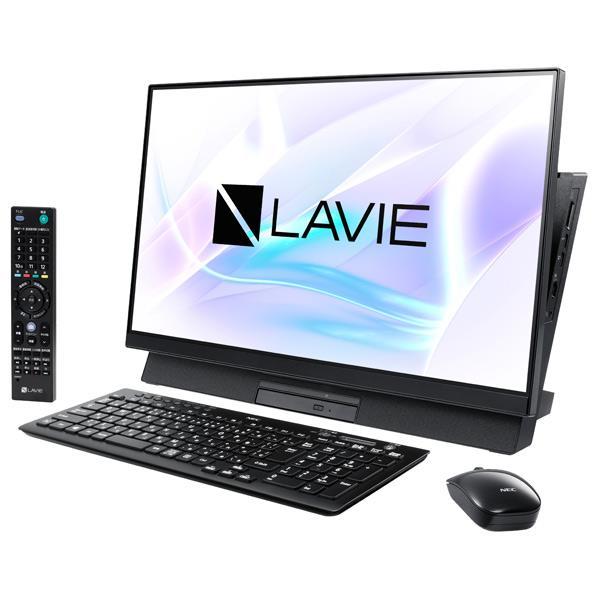 NEC 一体型デスクトップパソコン LAVIE Desk All-in-one ファインブラック PC-DA770MAB [PCDA770MAB]【RNH】