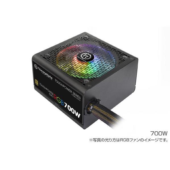 Thermaltake 電源ユニット(700W) TOUGHPOWER GX1 RGB GOLD PS-TPD-0700NHFAGJ-1 [PSTPD0700NHFAGJ1]