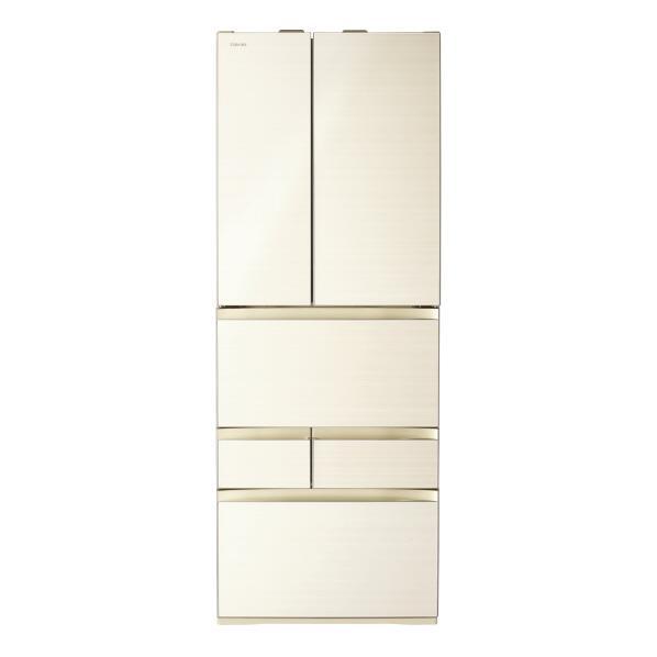 東芝 551L 6ドアノンフロン冷蔵庫 VEGETA ラピスアイボリー GRR550FZZC [GRR550FZZC]【RNH】