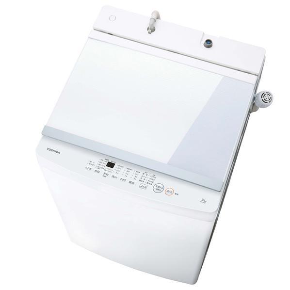 東芝 10.0kg全自動洗濯機 ZABOON ピュアホワイト AW-10M7(W) [AW10M7W]【RNH】