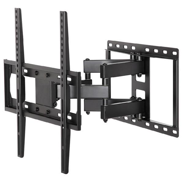 朝日木材 26V~55V推奨 壁掛け金具 フルモーションタイプ WALL FIT MOUNT ブラック FLM-002-BK [FLM002BK]