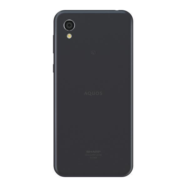 シャープ SIMフリースマートフォン AQUOS sense2 ニュアンスブラック SHM08B [SHM08B]