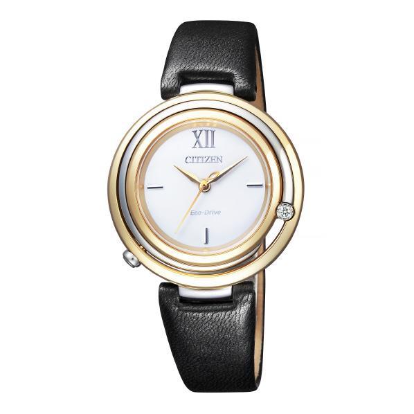 シチズン 腕時計 シチズンエル エコ・ドライブ Arcly Collection Kanon-inspired Design EM0656-23A [EM065623A]