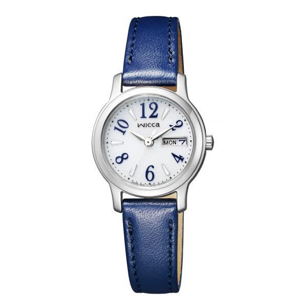 シチズン 腕時計 ウィッカ ソーラーテック デイ&デイト KH3-410-10 [KH341010]