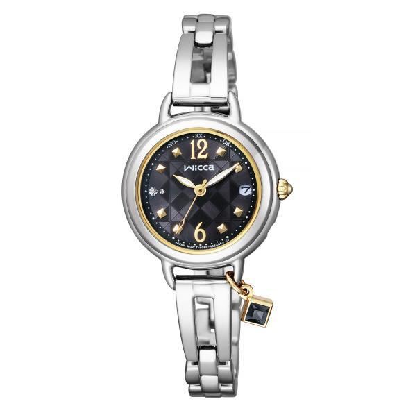 シチズン ソーラーテック電波腕時計 ウィッカ ブレスライン HAPPY DIARY KL0-910-51 [KL091051]