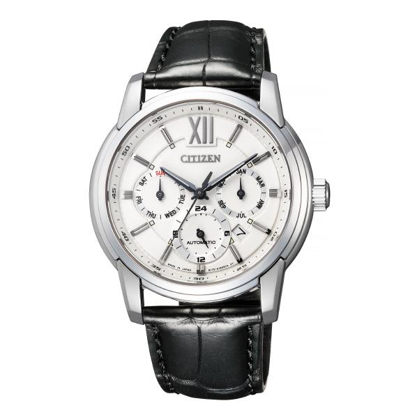 シチズン 腕時計 シチズンコレクション メカニカルマルチハンズ 白 NB2000-19A [NB200019A]