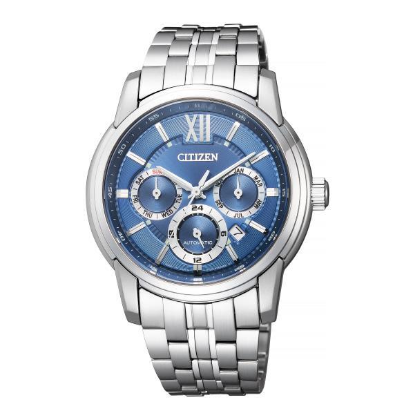 シチズン 腕時計 シチズンコレクション メカニカルマルチハンズ 青 NB2000-86L [NB200086L]