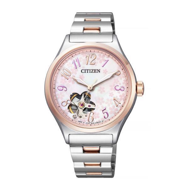 シチズン 腕時計 シチズンコレクション メカニカル限定モデル2019「桜川」 PC1004-80W [PC100480W]