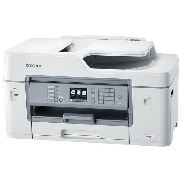 ブラザー A3対応インクジェット複合機 PRIVIO ホワイト MFC-J6583CDW [MFCJ6583CDW]【RNH】