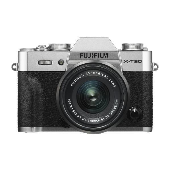 富士フイルム デジタル一眼カメラ・標準ズームレンズキット X Series シルバー FX-T30LK-1545-S [FXT30LK1545S]【RNH】