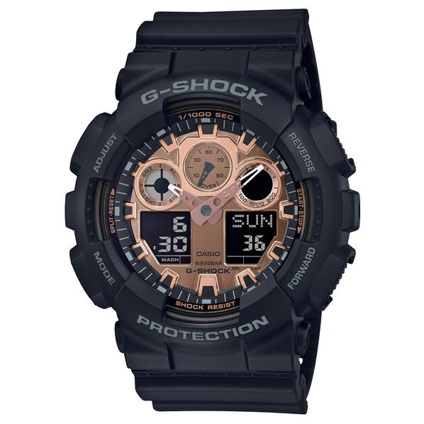カシオ 腕時計 G-SHOCK ブラック GA-100MMC-1AJF [GA100MMC1AJF]【MSSP】