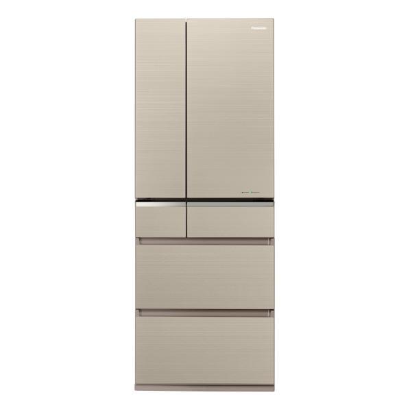 パナソニック 501L 6ドアノンフロン冷蔵庫 マチュアゴールド NR-F505XPV-N [NRF505XPVN]【RNH】