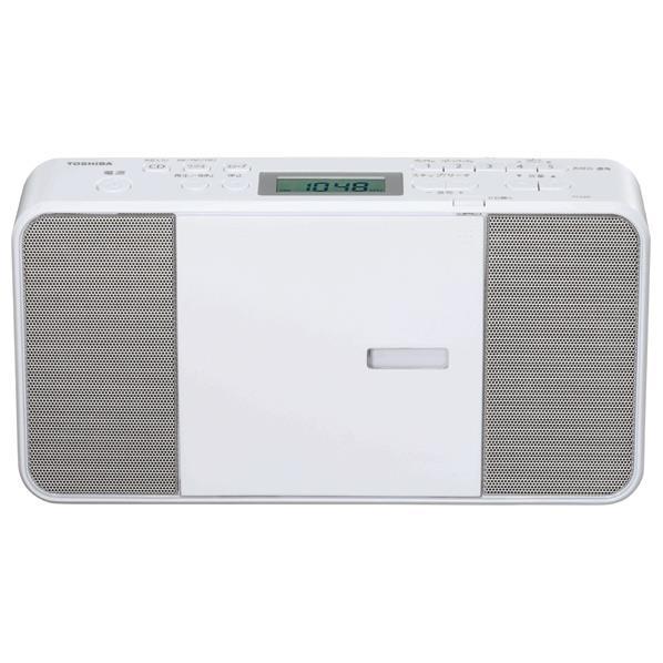 東芝 CDラジオ ホワイト TY-C251(W) [TYC251W]【RNH】