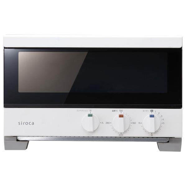 シロカ オーブントースター すばやき ホワイト ST-4A251(W) [ST4A251W]【RNH】