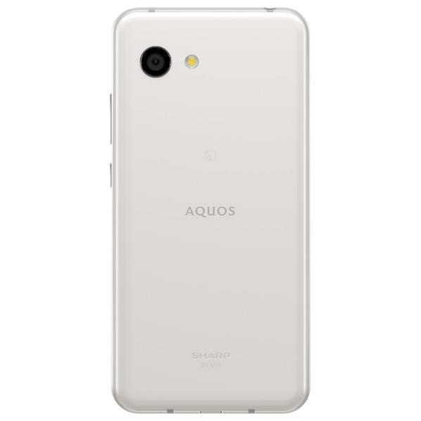 シャープ SIMフリースマホ AQUOS R2 compact ディープホワイト SHM09W [SHM09W]【APRP】