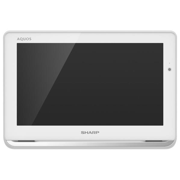 シャープ 12V型ポータブル液晶テレビ AQUOS ホワイト 2TC12APW [2TC12APW]【RNH】