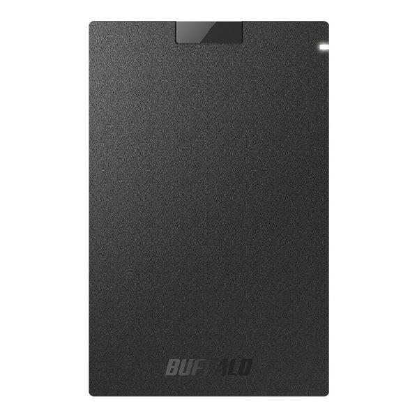 BUFFALO SSD(480GB) ブラック SSD-PG480U3-BA [SSDPG480U3BA]【APRP】