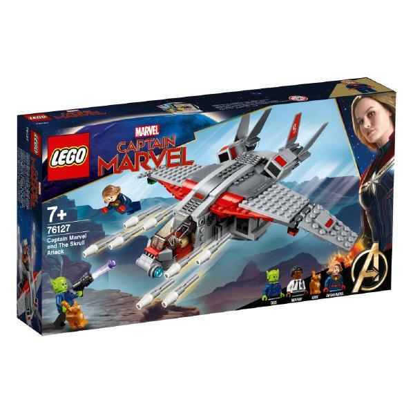 レゴジャパン LEGO キャプテン・マーベル 76127 キャプテン・マーベルとスクラルの襲撃 76127キヤプテンマ-ベルトスクラルノ [76127キヤプテンマ-ベルトスクラルノ]