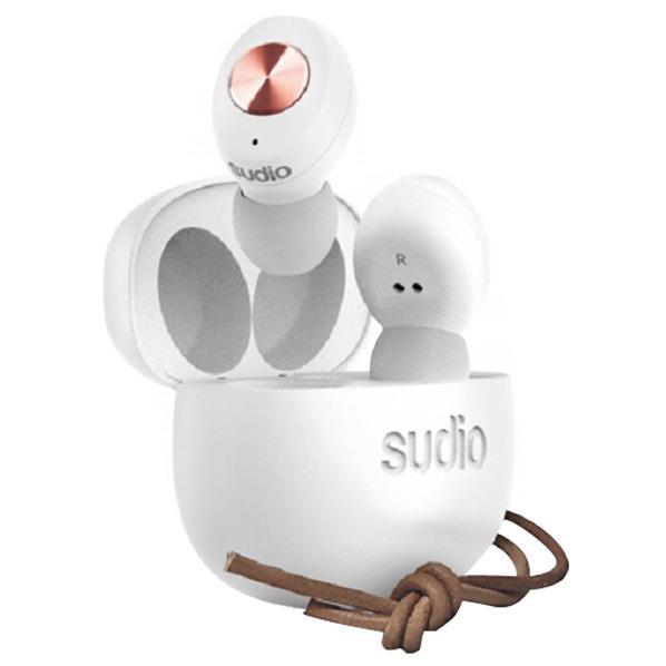 Sudio 完全ワイヤレスイヤフォン ホワイト SD-0037 [SD0037]【ARPP】【JNSP】