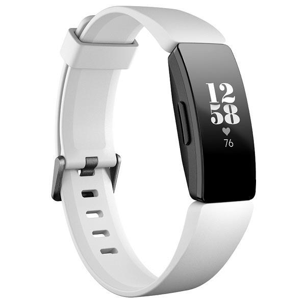 Fitbit フィットネストラッカー Inspire HR White/Black L/Sサイズ FB413BKWT-FRCJK [FB413BKWTFRCJK]
