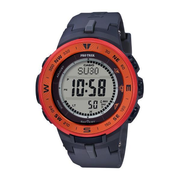 カシオ ソーラー電波腕時計 プロトレック オレンジ PRG-330-4AJF [PRG3304AJF]