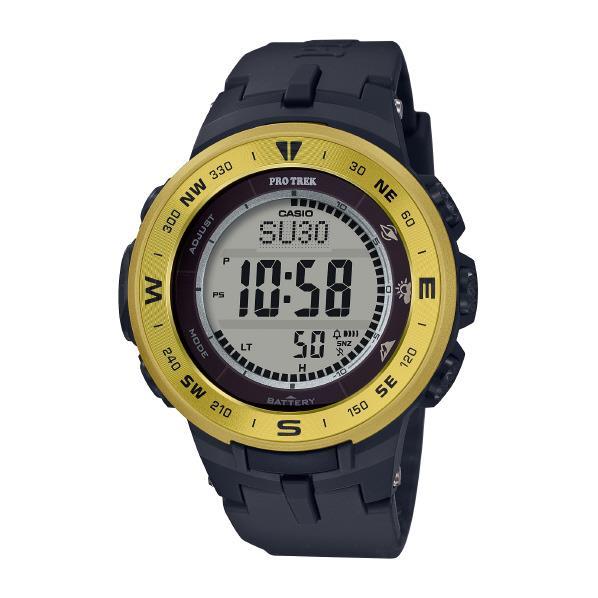 カシオ ソーラー電波腕時計 プロトレック イエロー PRG-330-9AJF [PRG3309AJF]