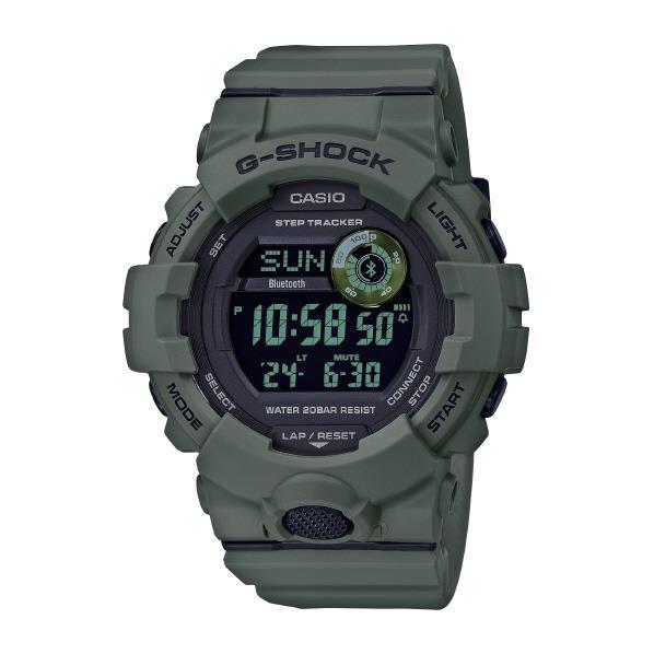 カシオ 腕時計 G-SHOCK G-SQUAD グリーン GBD-800UC-3JF [GBD800UC3JF]