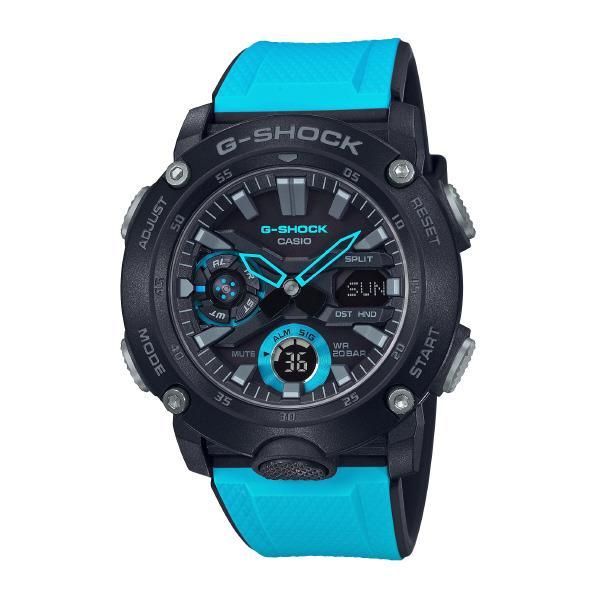 カシオ 腕時計 G-SHOCK ブルー GA-2000-1A2JF [GA20001A2JF]