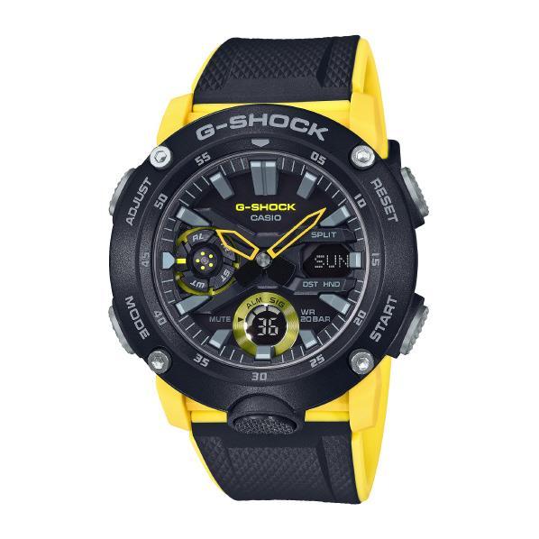 カシオ 腕時計 G-SHOCK イエロー GA-2000-1A9JF [GA20001A9JF]