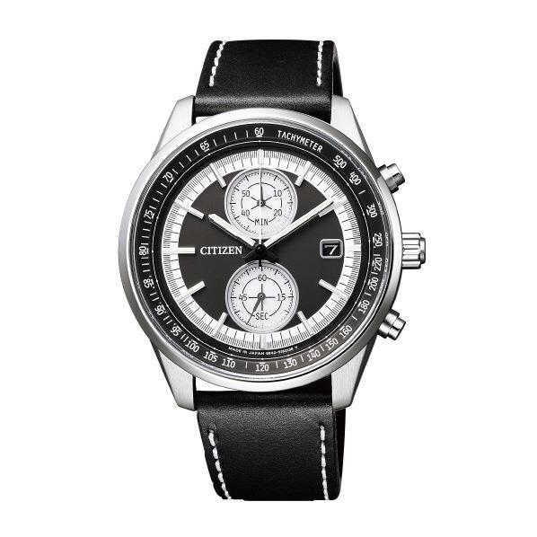 シチズン 腕時計 シチズンコレクション エコ・ドライブ スマートスポーツクロノグラフ 黒 CA7030-11E [CA703011E]
