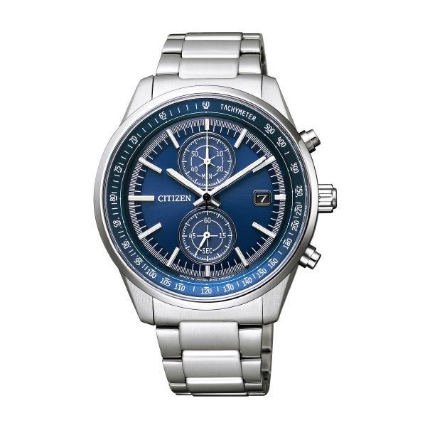 シチズン 腕時計 シチズンコレクション エコ・ドライブ スマートスポーツクロノグラフ 青 CA7030-97L [CA703097L]