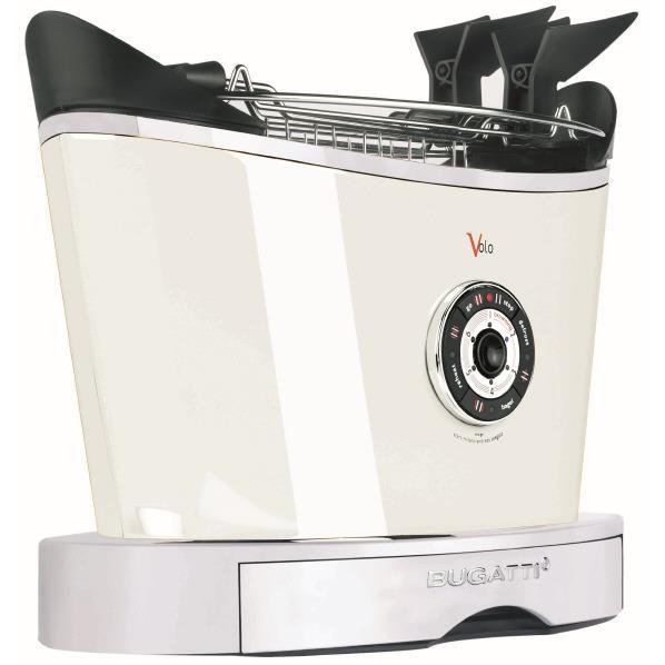 BUGATTI ITALY トースター Volo ホワイト 13-VOLOC1/JP [13VOLOC1JP]