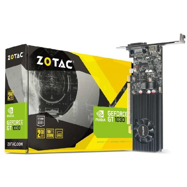 ZOTAC GeForce GT 1030 2GB GDDR5 ZTGT10302GD5LP [ZTGT10302GD5LP]