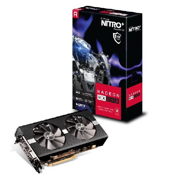Sapphire RX 590 8G GDDR5 DUAL HDMI / DVI-D / DUAL DP W/BP OC (UEFI) SAPPHIRE NITRO+ RADEON 11289-05-20G [112890520G]