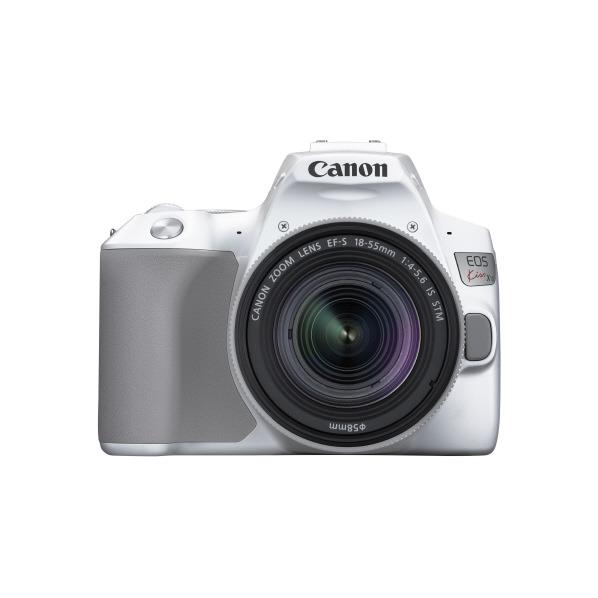 【あんしん延長保証対象】小型・軽量、なのに本格的! キヤノン デジタル一眼レフカメラ・EF-S18-55 IS STM レンズキット EOS Kiss X10 ホワイト KISSX10WH1855ISSTMLK [KISSX10WH1855ISSTMLK]【RNH】