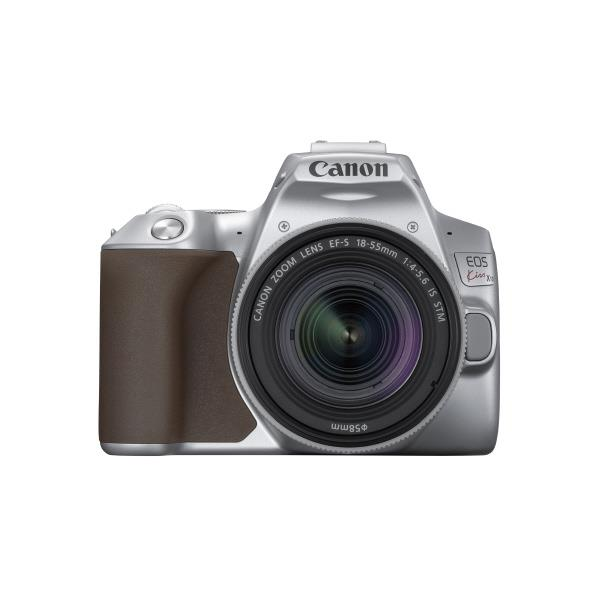【あんしん延長保証対象】小型・軽量、なのに本格的! キヤノン デジタル一眼レフカメラ・EF-S18-55 IS STM レンズキット EOS Kiss X10 シルバー KISSX10SL1855ISSTMLK [KISSX10SL1855ISSTMLK]【RNH】