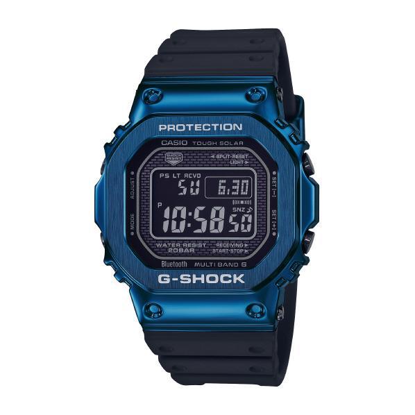 カシオ ソーラー電波腕時計 G-SHOCK ブルー GMWB5000G2JF [GMWB5000G2JF]【MCPI】