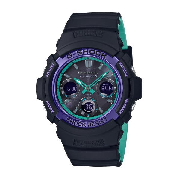 カシオ ソーラー電波腕時計 G-SHOCK ブラック AWGM100SBL1AJF [AWGM100SBL1AJF]【MCPI】