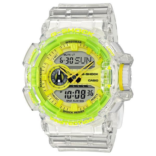 カシオ 腕時計 G-SHOCK イエロー GA400SK1A9JF [GA400SK1A9JF]【MCPI】