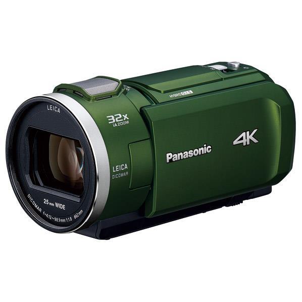 パナソニック 64GB内蔵メモリー デジタル4Kビデオカメラ フォレストカーキ HC-VX2M-G [HCVX2MG]【RNH】【NATUM】