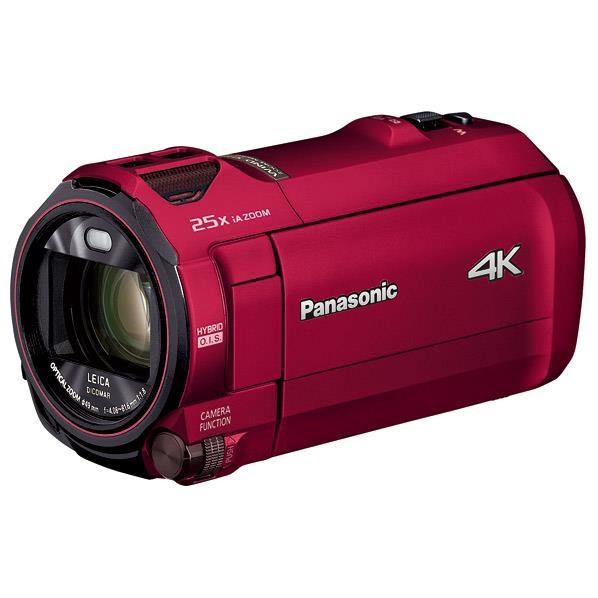 パナソニック 64GB内蔵メモリー デジタル4Kビデオカメラ アーバンレッド HC-VX992M-R [HCVX992MR]【RNH】
