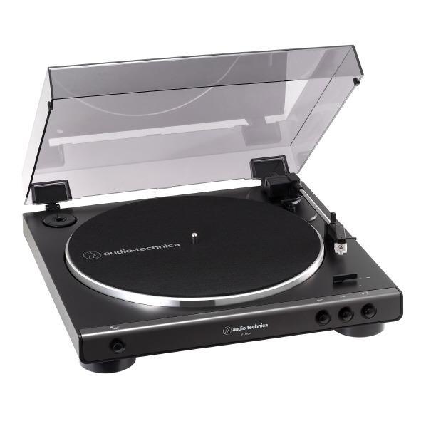 オーディオテクニカ レコードプレーヤー ダークガンメタリック AT-LP60X DGM [ATLP60XDGM]【JNSP】